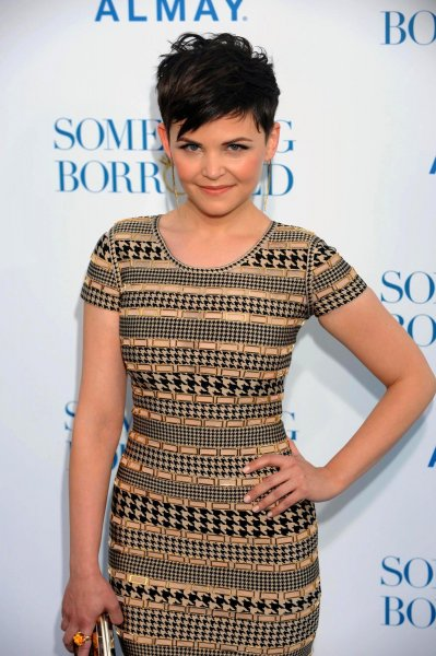Ginnifer Goodwin, a cast member in the motion picture romantic comedy Something Borrowed, attends the premiere of the film at Grauman's Chinese Theatre in the Hollywood section of Los Angeles on May 3, 2011. UPI/Jim Ruymen