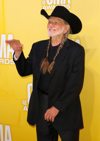 Willie Nelson arrives on the red carpet for the 2012 Country Music Awards at the Bridgestone Arena in Nashville on November 1, 2012. UPI/Terry Wyatt