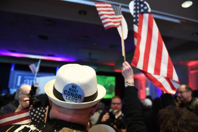 Pennsylvania is the main focus Tuesday of Democratic and Republican primaries in four states -- including Nebraska, Idaho and Oregon. File Photo by Pat Benic/UPI