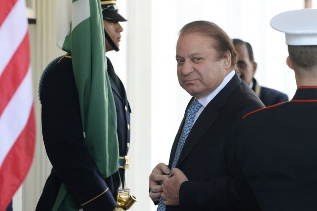 Nawaz Sharif, the former prime minister of Pakistan, was sentenced Friday to ten years in prison on corruption charges. File Photo by Pat Benic/UPI