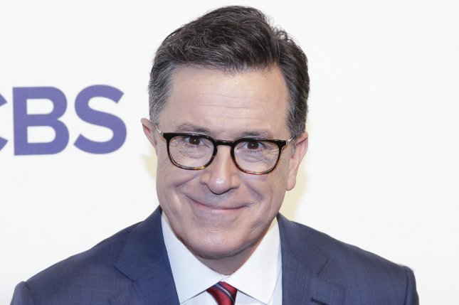 Stephen Colbert's Late Show will air live after the first Democratic 2020 presidential primary debates. File Photo by John Angelillo/UPI