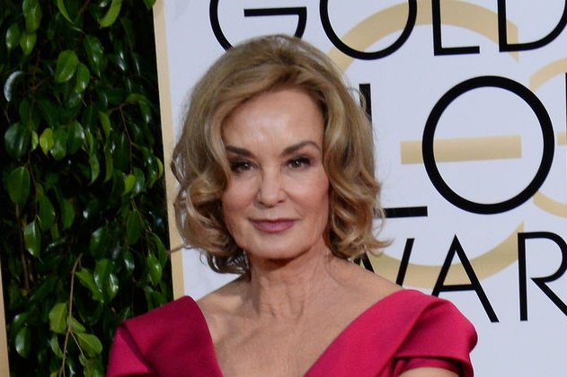 Jessica Lange at the Golden Globe Awards on January 11. The actress will reportedly return to 'American Horror Story' after all. File photo by Jim Ruymen/UPI