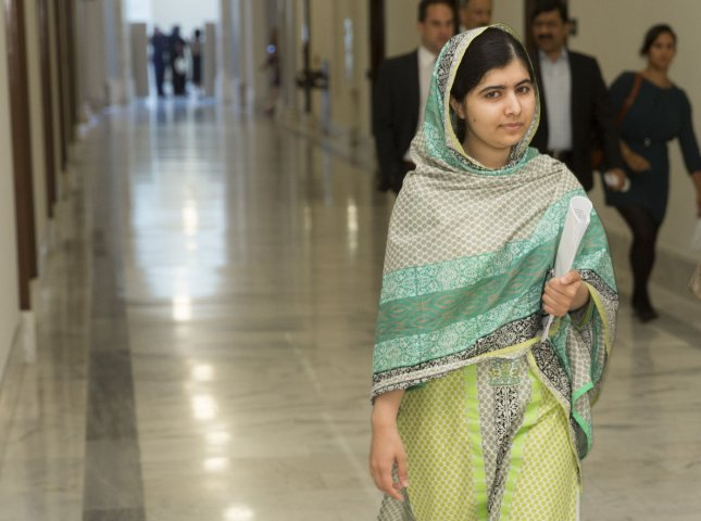 U.N. Secretary-General Antonio Guterres on Monday made Malala Yousafzai a U.N. messenger of peace. She joins a list of others in public life bringing favorable attention to the work of the United Nations. File Photo by Joshua Roberts/Malala Fund/UPI