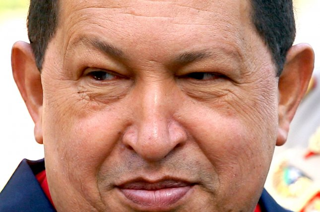 Venezuela's former President Hugo Chavez in 2007 expropriated ConocoPhillip assets leading to a legal dispute. On Oct. 25, 2018 ConocoPhillips reported it received $345 million from Venezuelan state oil company PDVSA as the initial payment on a $2 billion settlement. File Photo by UPI