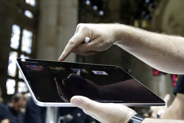 In the coming weeks, Amazon will begin directly selling the newest version of Apple products like the iPad Pro. Photo by John Angelillo/UPI