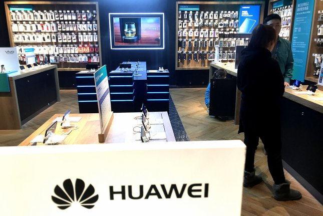 Huawei Technologies's equipment has been hotly debated in Europe and Asia. File Photo by Stephen Shaver/UPI