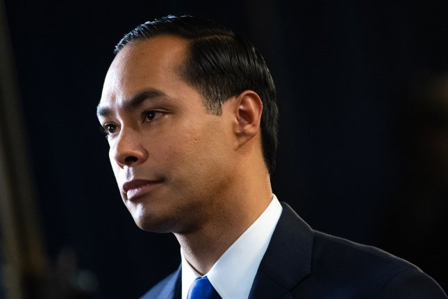 Democratic presidential candidate and former Housing and Urban Development Secretary Julian Castro suspended his campaign Thursday. File Photo by Kevin Dietsch/UPI