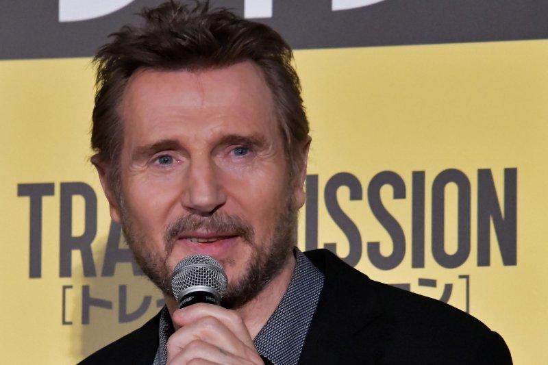 Liam Neeson's The Marksman is the No. 1 movie in North America. File Photo by Keizo Mori/UPI