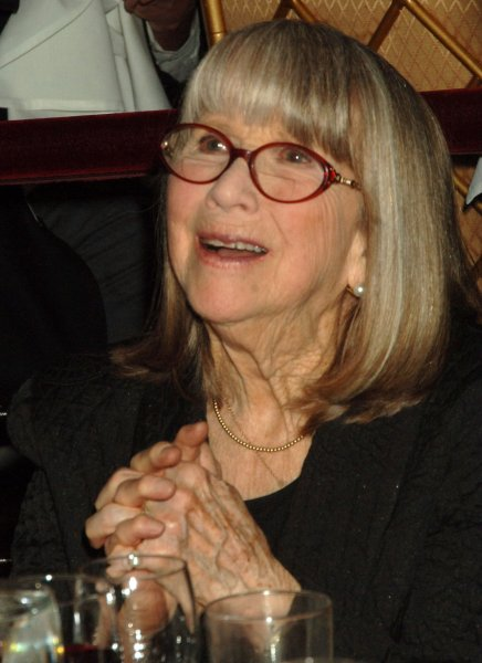 Actress Julie Harris, 83, enjoys the spoken accolades in her honor at the Actors Company Theater's Crystal gala held in New York on March 3, 2008. (UPI Photo/Ezio Petersen)