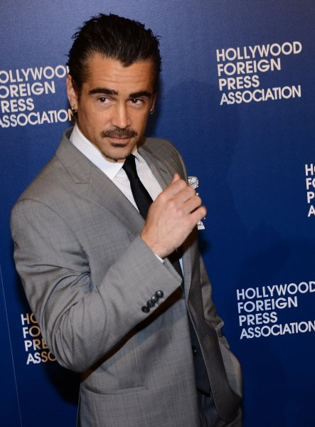Actor Colin Farrell attends the Hollywood Foreign Press Association (HFPA) annual luncheon held at the Beverly Hilton Hotel in Beverly Hills, California on August 13, 2013. Hollywood's top stars will help the HFPA give away a record $1.6 million to worthy causes during the event. UPI/Jim Ruymen