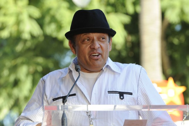 Comedian Paul Rodriguez speaks at a Hollywood Walk of Fame ceremony for Cops producer John Langley on February 11, 2011. Rodriguez recently slammed his Ali co-star Will Smith, stating I'd never work with him again. File Photo by Phil McCarten