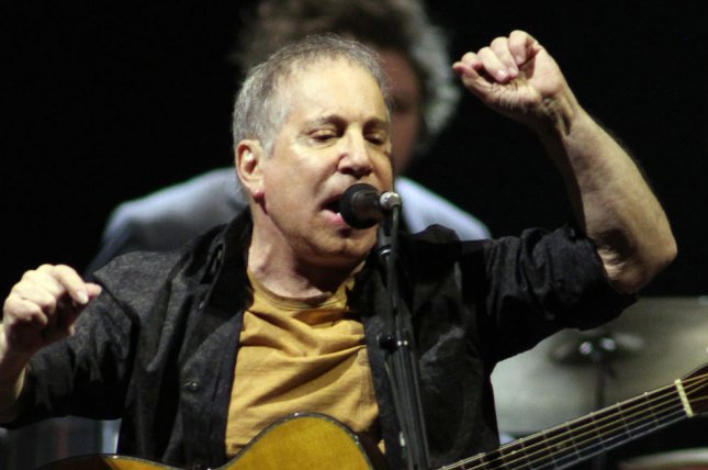 Paul Simon performs in concert with Sting at the BB & T Center in Sunrise, Fla., in 2014. File Photo by Michael Bush/UPI