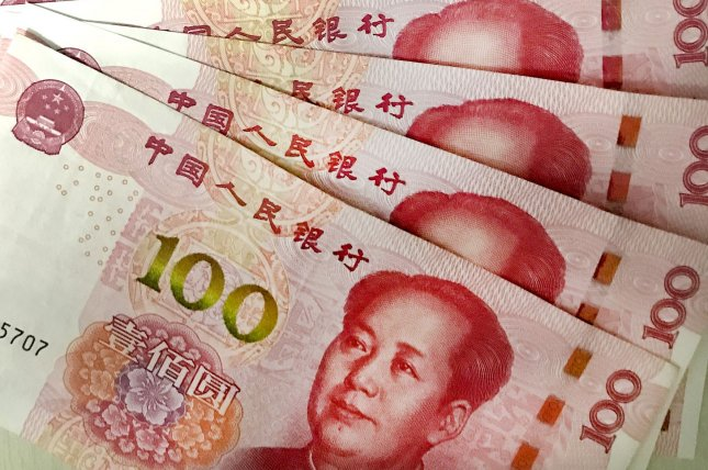 China is drawing closer to issuing the world's first digital currency and has tested the system in cities across the country. File Photo by Stephen Shaver/UPI