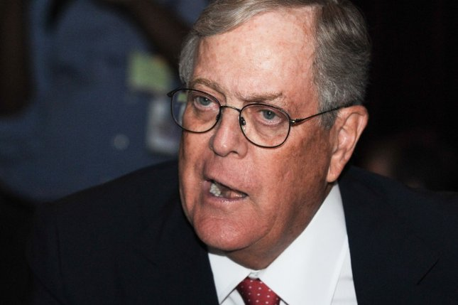 A group of scientists have begun a petition to have billionaire David Koch kicked off the boards of the National Museums of Science and Natural History. File Photo by Alexis C. Glenn/UPI
