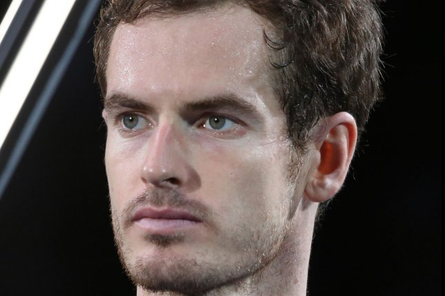 Andy Murray of Great Britain. Photo by David Silpa/UPI
