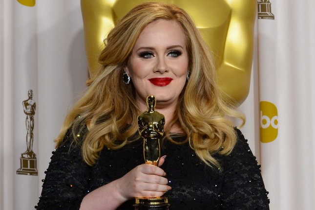 Adele Adkins at the 85th Academy Awards on February 24, 2013. The singer has told all of the 2016 presidential campaigns they do not have permission to use her songs. File Photo by Jim Ruymen/UPI