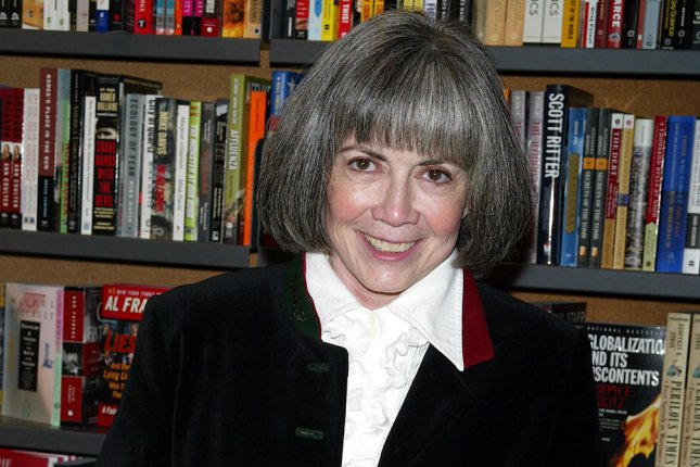 AMC is adapting for television Anne Rice's The Vampire Chronicles and The Lives of the Mayfair Witches books. File Photo by Laura Cavanaugh/UPI