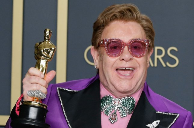 Elton John has announced his final tour dates for Europe and North America. File Photo by John Angelillo/UPI