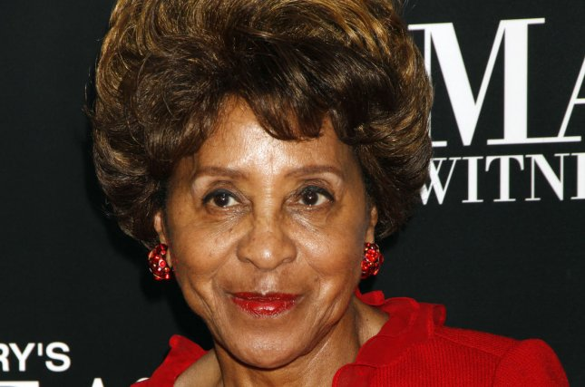 Marla Gibbs, 90, has been honored with a star on the Hollywood Walk of Fame. File Photo by Laura Cavanaugh/UPI