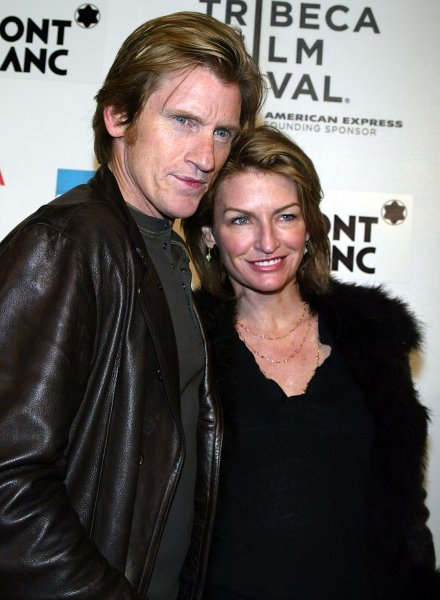 Denis Leary and wife arrive for the premiere of Finding Amanda at the Tribeca Film Festival in New York on April 29, 2008. (UPI Photo/Laura Cavanaugh)