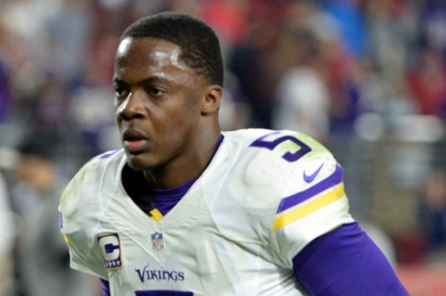 Minnesota Vikings quarterback Teddy Bridgewater. Photo by Art Foxall/UPI