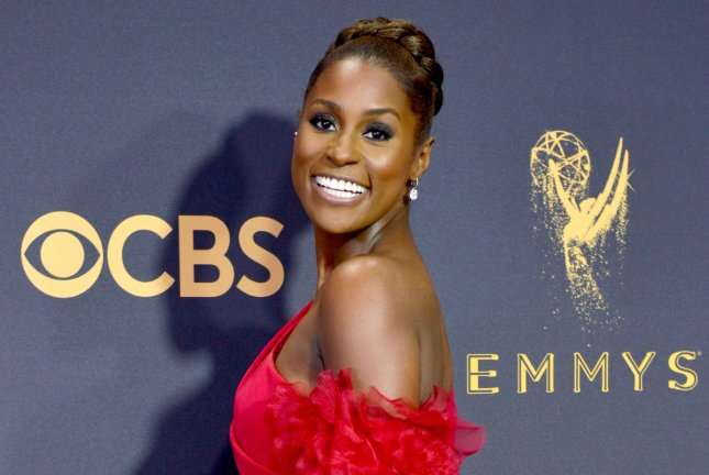 Issa Rae attends the Primetime Emmy Awards on September 17, 2017. File Photo by Christine Chew/UPI