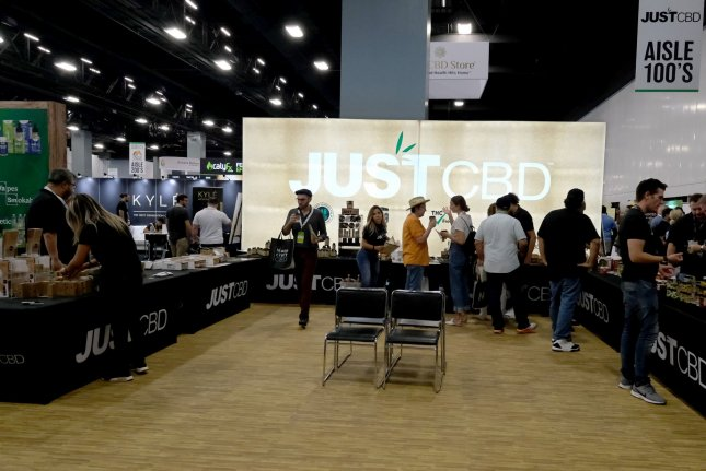 Since the legalization of hemp by Congress last year, CBD products have proliferated in number and availability, as seen at the USA CBD Expo in Miami Beach in August. File Photo by Gary I Rothstein/UPI