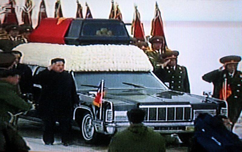 Kim Jong Il funeral televised in N. Korea