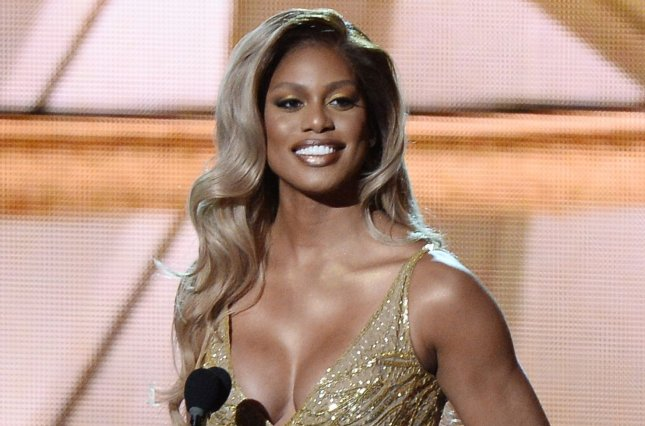 Actress Laverne Cox speaks onstage during the 68th annual Primetime Emmy Awards on September 18, 2016. Cox performs Nicki Minaj's Roman's Revenge on an upcoming episode of Lip Sync Battle that also features Samira Wiley. File Photo by Jim Ruymen/UPI