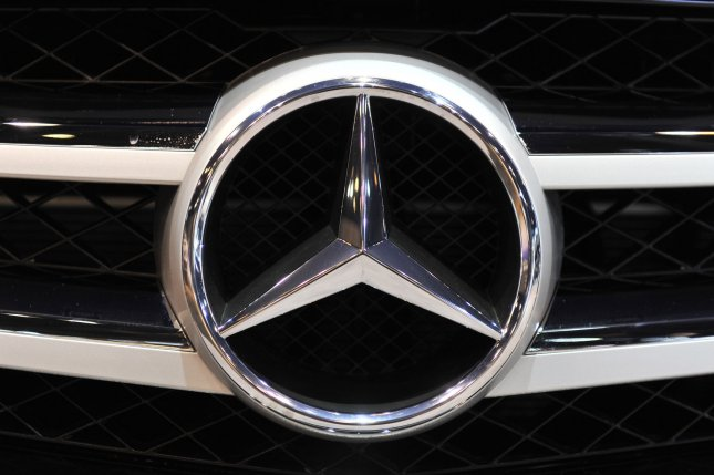 Mercedes-Benz recalled 308,000 vehicles due to a potential fire hazard caused by issues with the engine starter. The issue has resulted in 35 fires in the U.S., but no injuries or deaths have been reproted. Photo by Brian Kersey/UPI