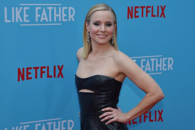 Kristen Bell attends the Los Angeles premiere of Like Father on Tuesday. Photo by Jim Ruymen/UPI
