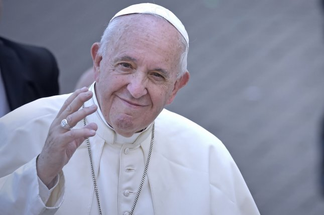 Pope Francis, seen here in October, issued a decision lifting the code of secrecy imposed on sex abuse victims who participate in church trials of accused priests. File photo by Sefano Spaziani/UPI