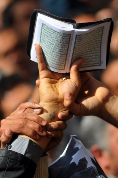 A Florida judge has stated his decision on a case involving a local mosque was in keeping with the teachings of the Koran (pictured). UPI/Mohammed Hosam