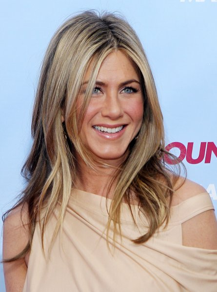 Jennifer Aniston arrives on the red carpet for the premiere of The Bounty Hunter at the Ziegfeld Theater in New York City on March 16, 2010. UPI/John Angelillo