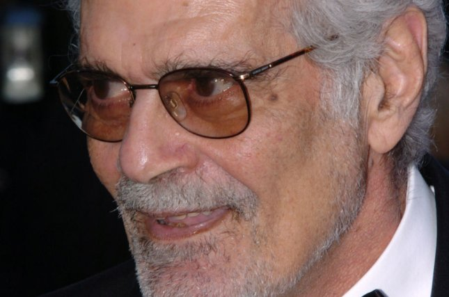 Actor Omar Sharif before the gala screening of the Coen brothers' film The Ladykillers at the Palais des Festivals May 18, 2004 during the Cannes Film Festival in Cannes, France. File Photo by Christine Chew/UPI.