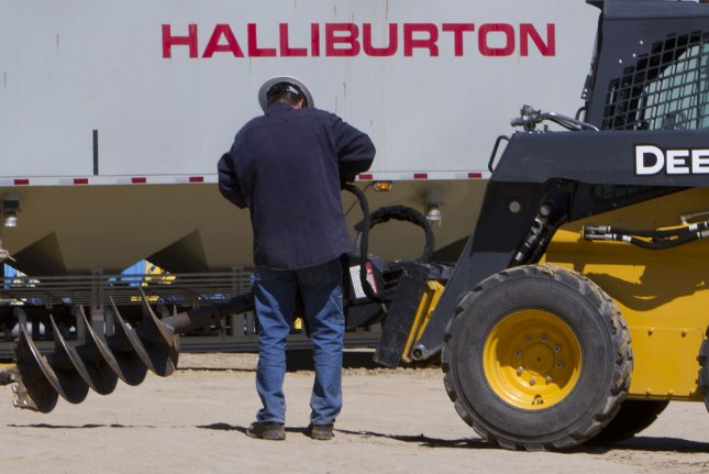 Oil field services company Halliburton says weakness in North American energy sector behind the worst of the declines for the fourth quarter. File photo by Gary C. Caskey/UPI