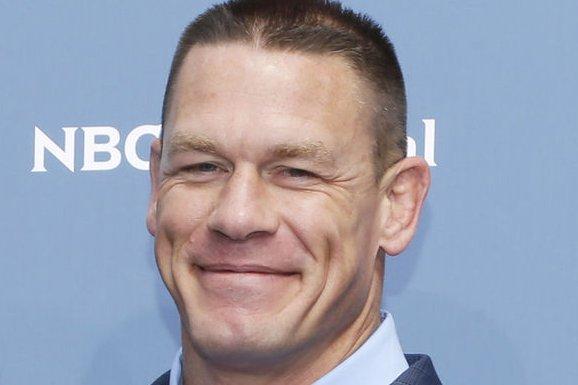 John Cena at the NBC Universal upfront on May 16. File Photo by John Angelillo/UPI