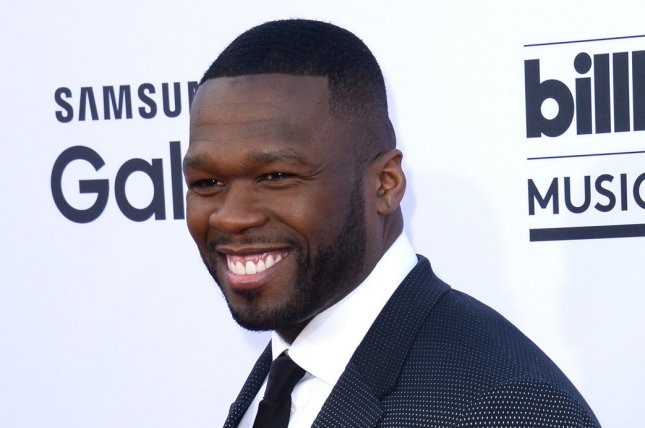 Curtis 50 Cent Jackson attends the Billboard Music Awards on May 17, 2015. The rapper/actor told Jimmy Kimmel about his nude scene on Power. File Photo by Jim Ruymen/UPI