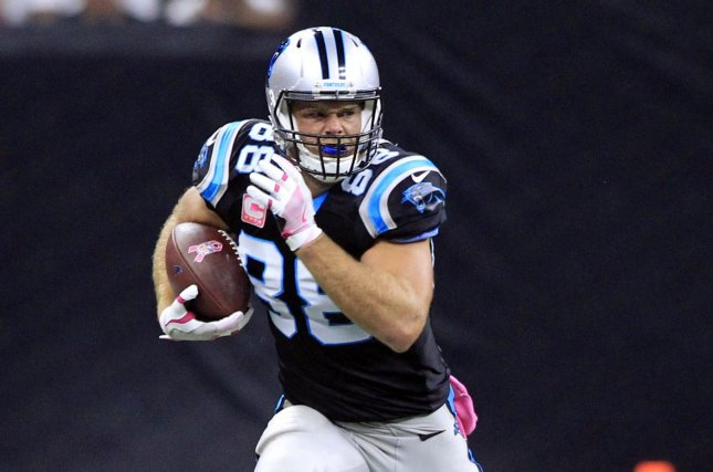 Defending TEs has been an off-and-on proposition for the Raiders, and Carolina Panthers' Greg Olsen provides perhaps the toughest test of the season; he has a league-high 54 receptions for 745 yards and three touchdowns. Photo by AJ Sisco/UPI
