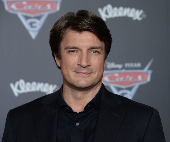 Cast member Nathan Fillion, the voice of Sterling in Cars 3, attends the premiere of the film at the Anaheim Convention Center on June 10. The actor will also soon be seen in the Netflix series A Series of Unfortunate Events. Photo by Jim Ruymen/UPI