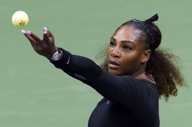 Serena Williams praised Alexis Ohanian as a supportive husband who challenges her to do her best. File Photo by Ray Stubblebine/UPI