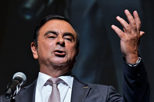 Nissan removed Carlos Ghosn from its board of directors Monday. File Photo by Keizo Mori/UPI