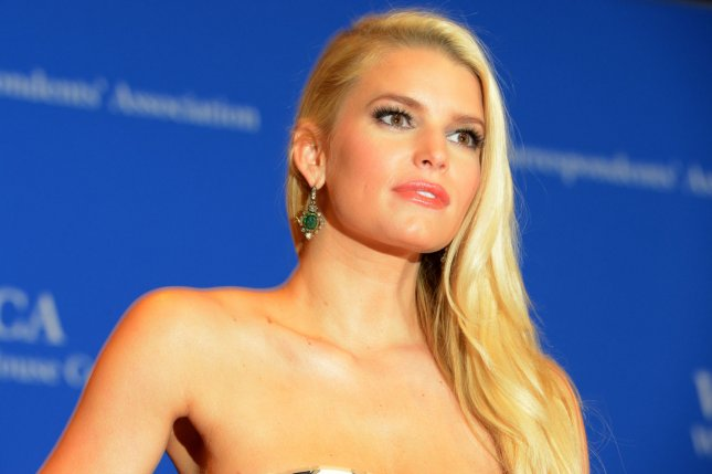 Jessica Simpson and other stars spent Easter with their loved ones Sunday. File Photo by Molly Riley/UPI