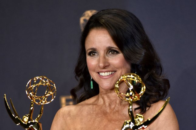 Julia Louis-Dreyfus plays Selina Meyer in the HBO series Veep. File Photo by Christine Chew/UPI