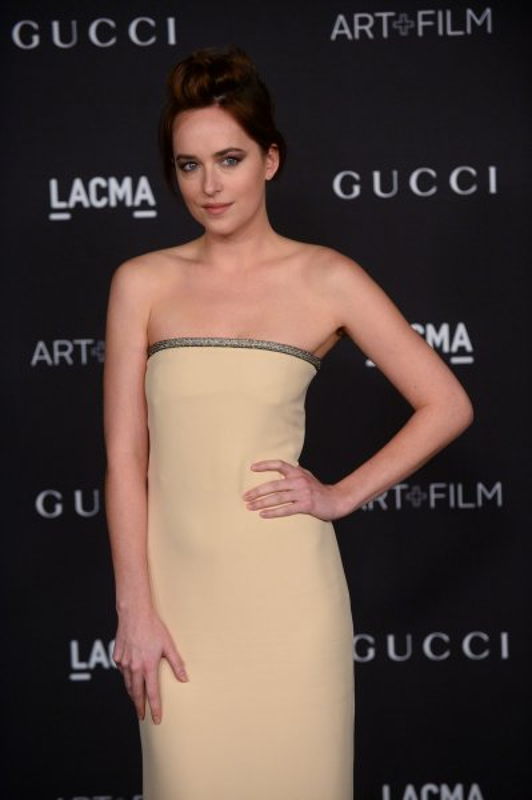 Dakota Johnson will star alongside Jamie Dornan in 'Fifty Shades of Grey.' (UPI/Jim Ruymen)