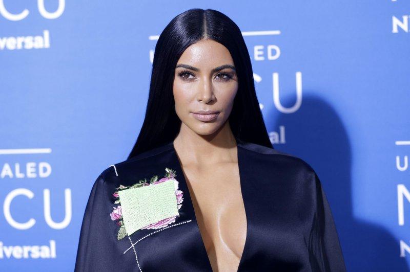 Kim Kardashian attends the NBCUniversal upfront on May 15. File Photo by John Angelillo/UPI