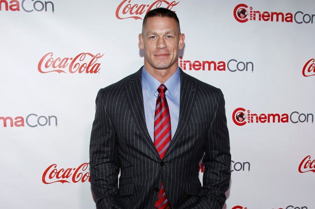John Cena and other WWE stars, including Ronda Rousey, commented on Roman Reigns' leukemia announcement on social media. File Photo by James Atoa/UPI