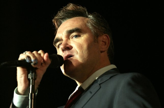 Morrissey will perform seven dates at Lunt-Fontanne Theater in May. File Photo by Michael Bush/UPI