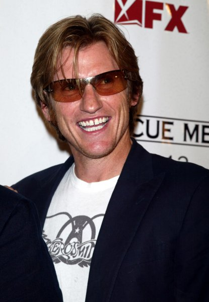 Denis Leary arrives for the Season 4 Premiere Screening of Rescue Meat the AMC Theater on 42nd Street in New York on June 4, 2007. (UPI Photo/Laura Cavanaugh)