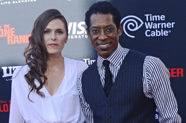 Orlando Jones and Jacqueline Staph arrive for the World Premiere of Disney/Jerry Buckheimer Films The Lone Ranger at Disney's California Adventure in Anaheim, California on June 22, 2013. UPI/Jim Ruymen